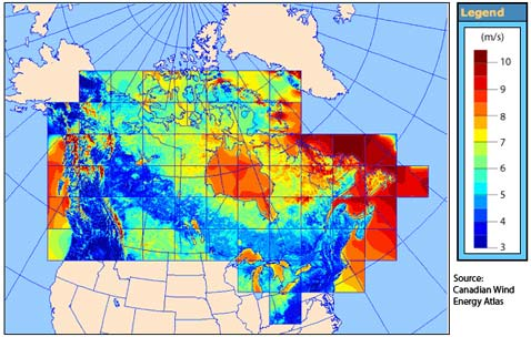 Wind Energy Map